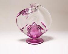 MICHAEL TAYLOR (AMERICAN, B.1944) ART GLASS SCULPTURE SWIRL SHAPED GLOBE