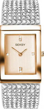 SEKSY LADIES KRYSTAL ROSE GOLD QUARTZ WATCH MODEL 2376, 2376.37 RRP £139.99