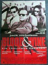 Blood & Wine - Jack Nicholson - Jennifer Lopez  - A1 Filmposter Plakat (j-9530