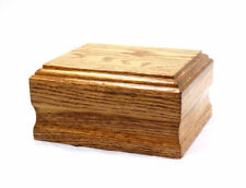 Solid Oak Wood Engraving Pet Cremation Urn of Friends Urns Wholesale and retail