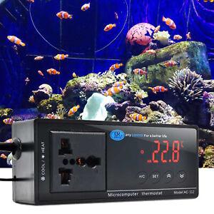 Modern Digital Aquarium Thermostat Heat Mat Pet Reptile Temp Control Incubator