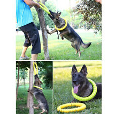 Dog Chew Toys for Aggressive Chewers Indestructible Pet Flying Disc Ring