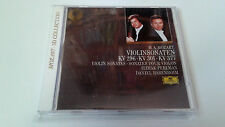 "DANIEL BARENBOIM ITZHAK PERLMAN ""MOZART VIOLINSONATEN KV 296 301 377"" CD 8TRACKS"