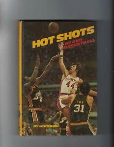 1970s hardcover book  Hot Shots of Pro Basketbal Pete Maravich Atlanta Hawks Gd