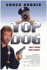 TOP DOG Movie POSTER 27x40 Chuck Norris Clyde Kusatsu Michele Lamar Richards