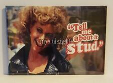 "GREASE movie SANDY TELL ME ABOUT IT  2"" x 3"" Fridge MAGNET Olivia Newton-John"