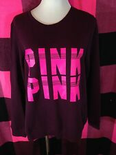 Victoria's Secret PINK Crewneck Sweatshirt Crew Medium M NWT