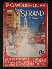 The Strand Magazine; February 1929 - P G Wodehouse (Bludleigh Court), Ethel Dell