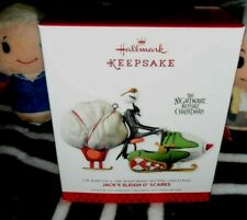 NEW ~ Hallmark Jack's Sleigh O' Scares Nightmare Before Christmas Ornament 2013