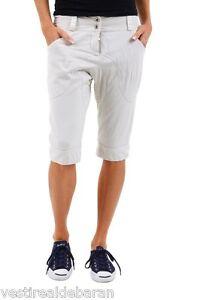 Pantaloni Capri Donna Jeans Corti al Polpaccio BRAY STEVE ALAN B647 Beige Tg S