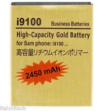 BATTERIA POTENZIATA GOLD BATTERY PER SAMSUNG GALAXY S2 i9100 CAPACITA' 2450 mAh