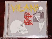 Villains: Never Abandon The Slut Train CD 2013 Nuclear War Now ANTI-GOTH 246 NEW