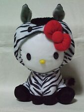 Hello Kitty x Yakult Zebra Horse plush doll Sanrio 2013 Rare New