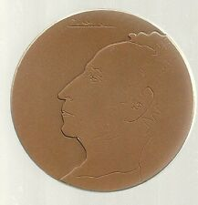 1974 1st Artur Rubinstein Piano Comptition by Picasso 59mm 98g Bronze + COA