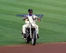 Bo Jackson 1991-93 White Sox Harley Davidson Fisk Night 6/22/93 Color 8x10 B