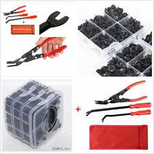 620 Pcs 16 Kinds Fastener Clips+3 Pcs Clip Plier & Fastener Remover Puller Tools