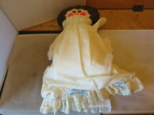 """Vintage Hand Crafted 24"""" Smiling Face Doll"""