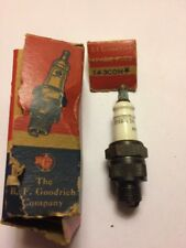 """Vintage Collectible New Old Stock B.F Goodrich """"14-3 Com"""" Spark Plug Late 1940's"""