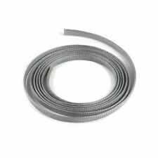 "1/4"" Grey Engine & Harness Wire Loom - 10 Feet muscle car v8 street truck hot"