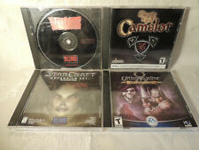 Pre-Owned Lot of Pc Cd-Rom Games Camelot, Star Craft, War Craft, Ultima Online