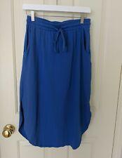 Synergy Organic Clothing Cotton A Line Drawstring Elastic Waist Size M
