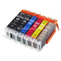 6 Druckerpatronen PGI 570 CLI 571 XL für den Drucker Canon PIXMA MG7750 MG7760