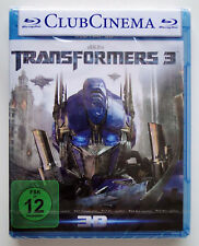 TRANSFORMERS 3 - Dark of the Moon [3D-Blu-ray] - NEU!