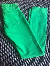 J.Crew Women's Matchstick Green Denim Jeans Pants Size 24R