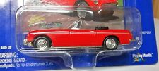MGB 1963 BLACK INTERIO RED RHD TARTAN MOC JOHNNY LIGHTNING 1962 MG MGB NLA 63 MG