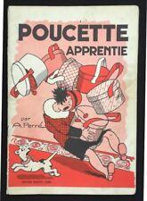 POUCETTE APPRENTIE par A. Perré ~ Editions Rouff 1951