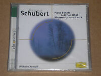FRANZ SCHUBERT - PIANO SONATA IN B FLAT, MOMENTS MUSICAUX- CD SIGILLATO (SEALED)