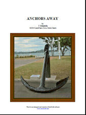 ANCHORS AWAY - cross stitch chart