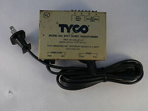 Vintage Tyco HO & N Scale Hobby Transformer Model 899T Power Pack Train Tested