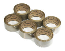 "6 Pack Tan Movers Tape 2"" x 60 yds 1.88 MIL thickness Professional Grade"