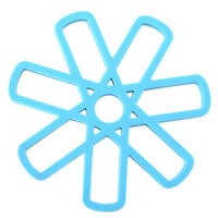 Flower Hollow Out Silicone Placemat Table Mat Pad Cup Bowl Holder Coaster YD