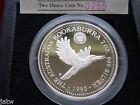 Australia. 1995 2oz - Silver Kookaburra... Canberra Florin Privy Mark.. Proof