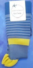 Paul Smith Mens English Flight Compression Socks Lacey Stripe Blue K599 One Size