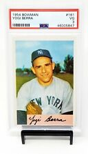 1954 Bowman #161 HOF NY Yankees YOGI BERRA Vintage Baseball Card PSA 3 VERY GOOD