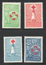 Estonia Sc B20-23 1931 Red Cross charity stamp set mint