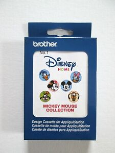 Brother Applique Station Mickey Mouse Collection Disney Home Design Cassette