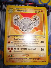POKEMON (◕‿◕✿) GRAVELER 30/64 NEO REVELATION UNCO ENGLISH GEM MINT EN ED 1 NEUF