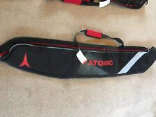 ATOMIC SINGLE SKI BAG ADJUSTABLE LENGTH 180cm BLACK RED NEW