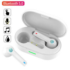 Bluetooth Wireless Headset Earphones Stereo Earbud for iPhone Samsung Oneplus LG