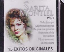 Sarita Montiel Vol 1 Los 15 Exitos originales new Sealed