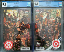 House Of X 1 Powers Of X 1 CGC 9.8 🔥Brooks Connecting Variant Set 1st Print B5