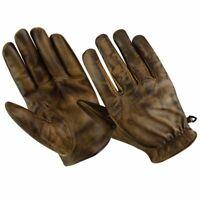 Gants de moto d'été, gants vintage, gants en cuir rétro vintage, gants de motard