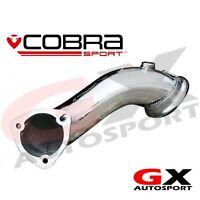"VX02c Cobra Sport Vauxhall Astra H VXR 05-11 First DeCat Pipe 2.75"" bore"