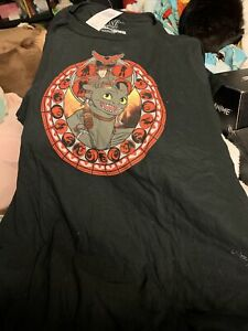 BNWT How To Train Your Dragon Juniors T-Shirt Size 2XL
