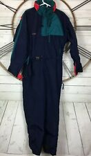 Columbia Sportswear Snowboarding Snow Ski Suit One Piece Mens M Color Block