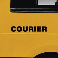 2x Courier Car, Van or Truck Stickers  #6822EN